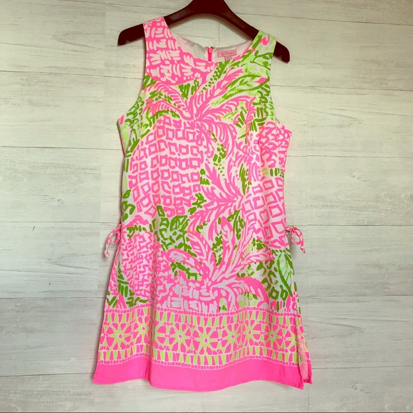 41dc9bc3484e7e Lilly Pulitzer Dresses & Skirts - Lilly Pulitzer Donna Romper Dress Home  Slice
